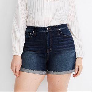 Madewell Plus Curvy High Rise Denim Shorts